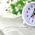 新聞と時計